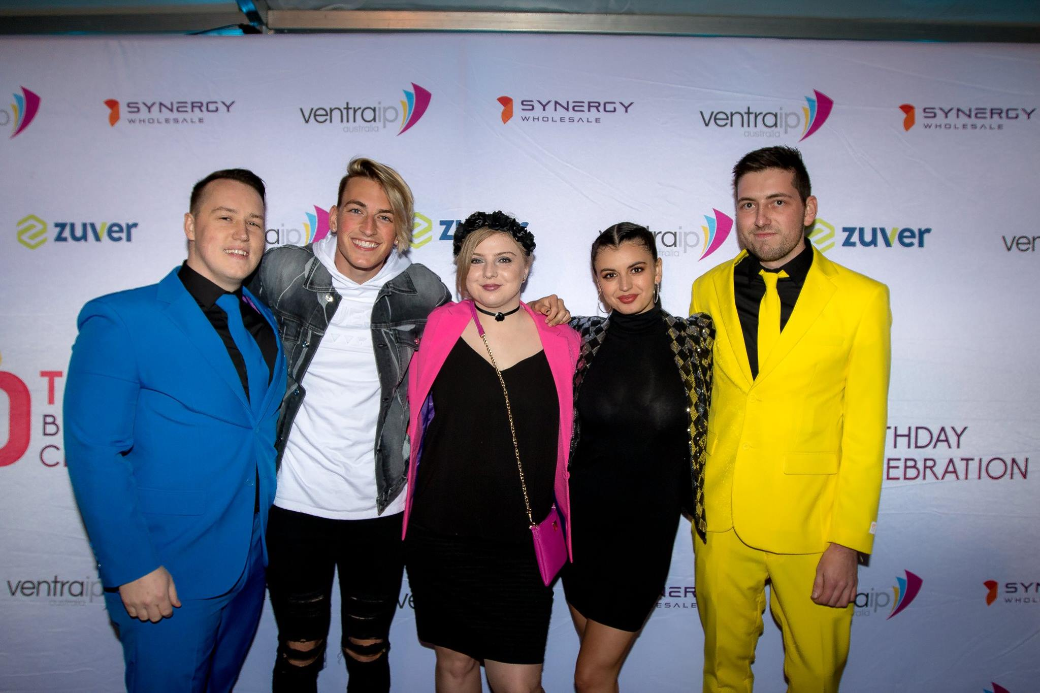 Rebecca Black at the VentraIP Birthday Party